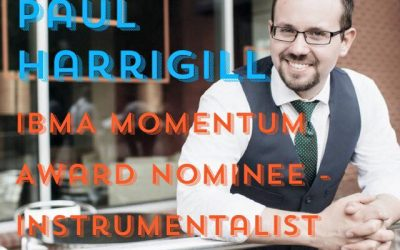 Paul Harrigill Receives IBMA Momentum Award Nomination